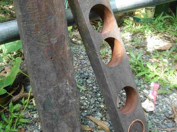 Wood used