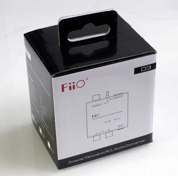 The FiiO D3 box