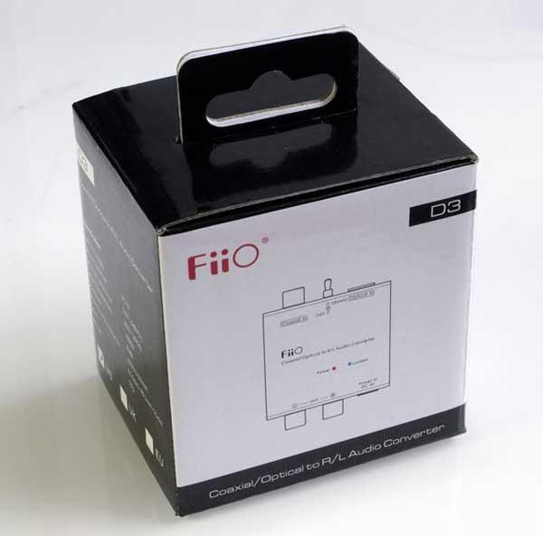 The FiiO D3 box