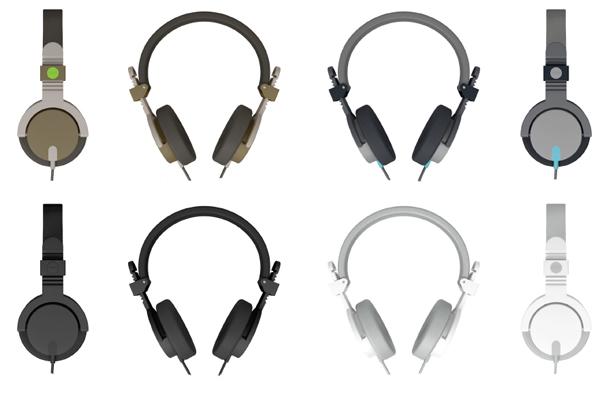 The Aiaiai Capital headphone color range