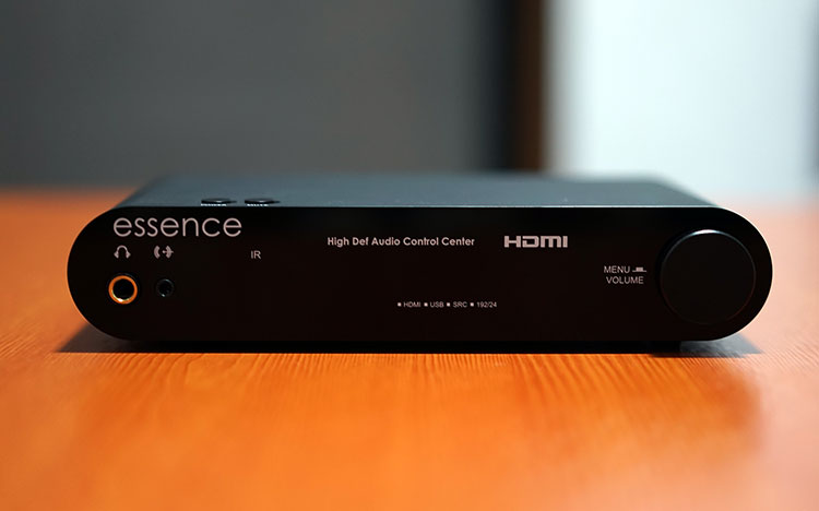 The HDACC DAC/Amp By Essence