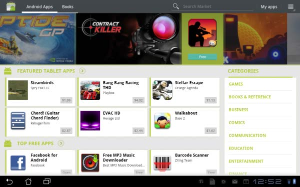 Welcome to the revamped Android Market.