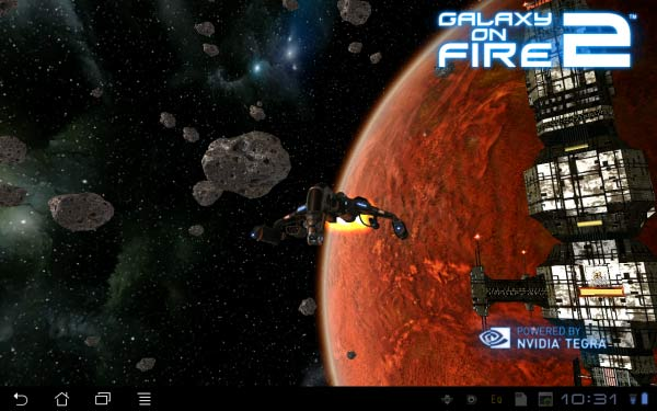Possibly the best-looking game on Android, Galaxy on Fire 2 THD has peerless graphical fidelity.