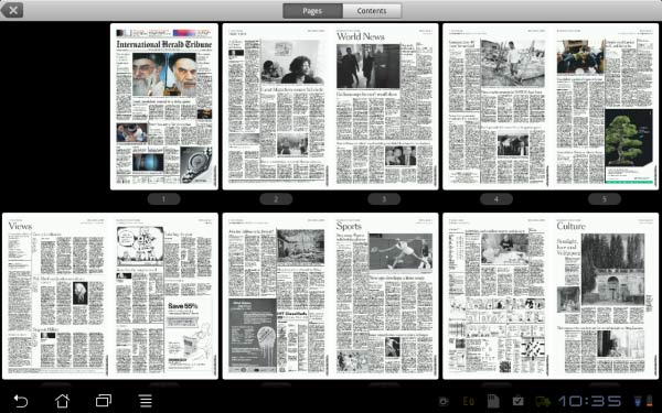 PressReader offers a subscription model for all available newspaper sources across nearly 100 countries.