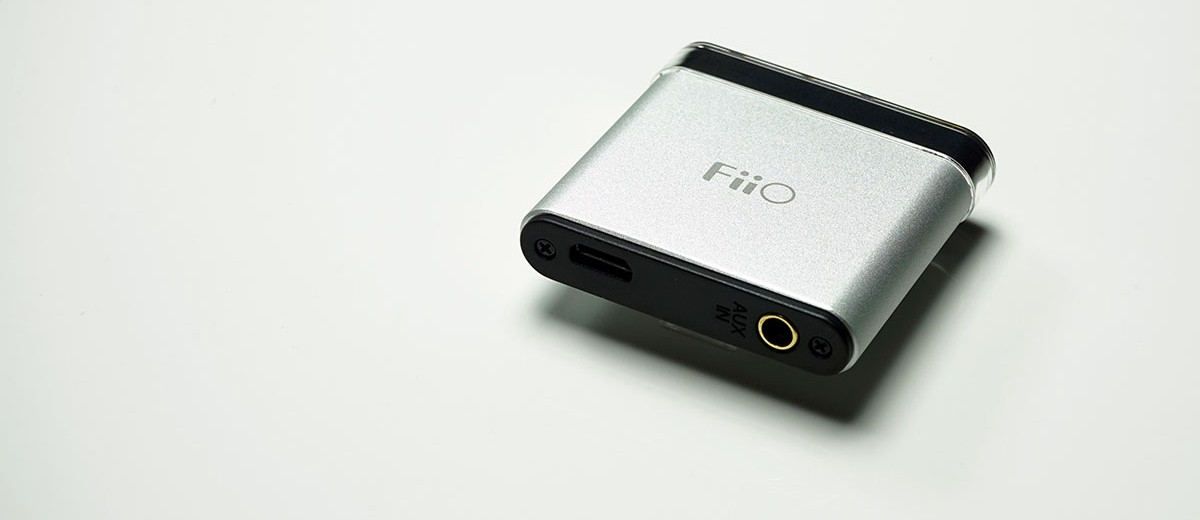 Black FiiO A1 Portable Headphone Amplifier