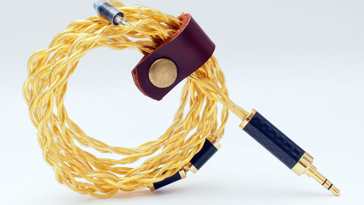Rhapsodio Golden IEM Cable