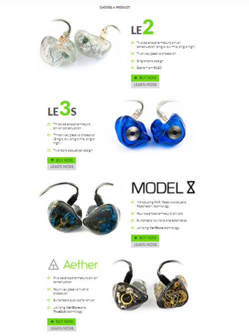 Lime Ears Product Range