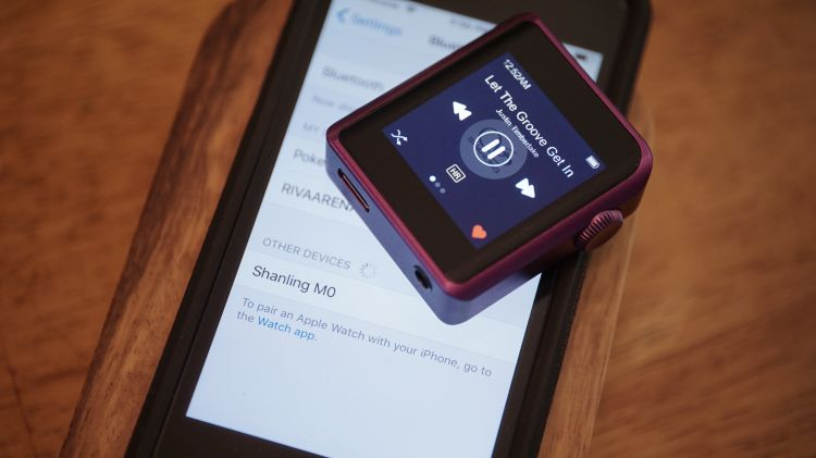 The Audio player review by review of gadgets.