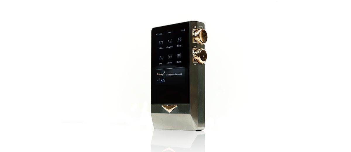 Cayin N8 Home screen