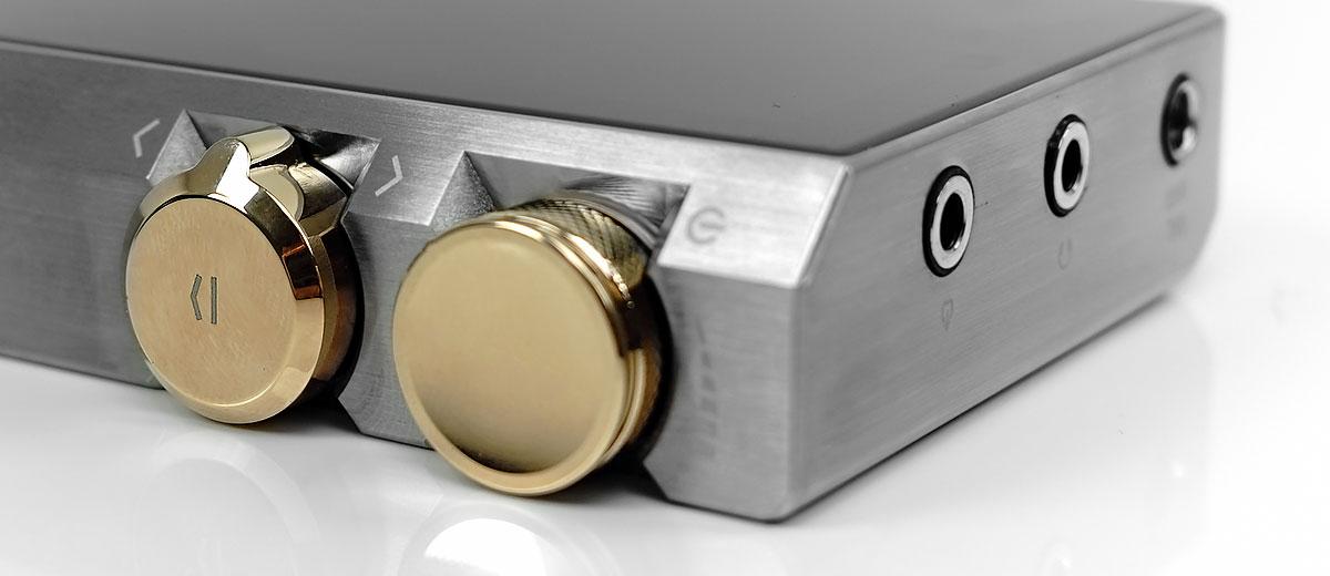 Cayin N8 Side controls & Volume