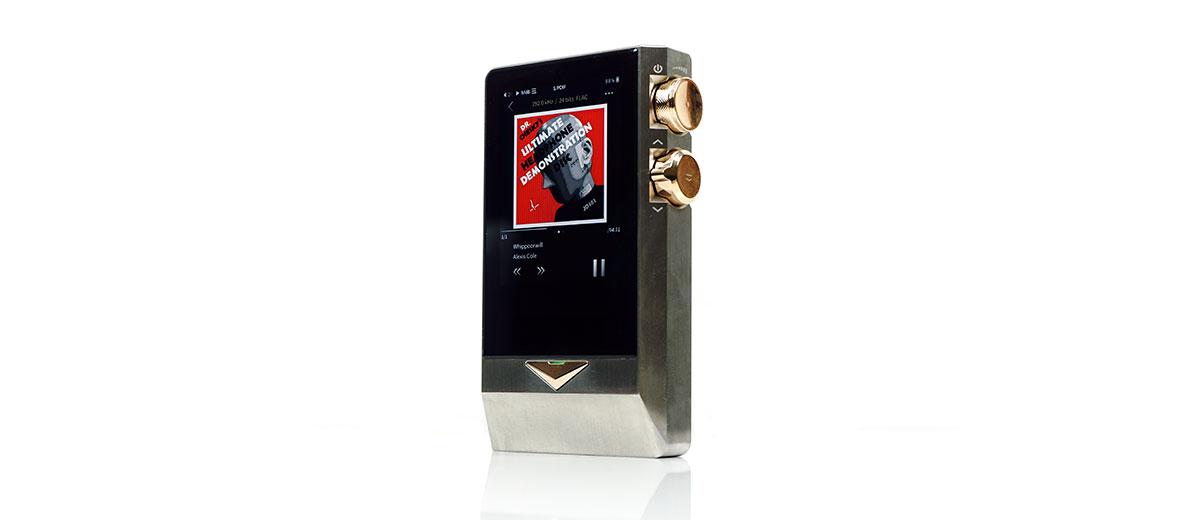 Cayin N8 Playback screen