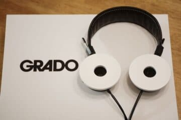 Grado White Headphones