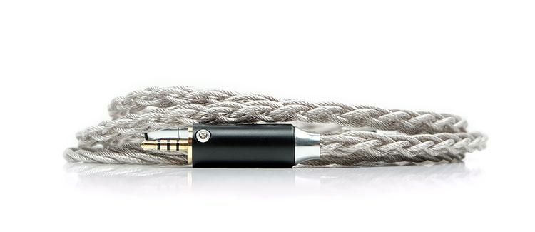 PLUSSOUND X6 Palladium-Plated Hybrid Cable