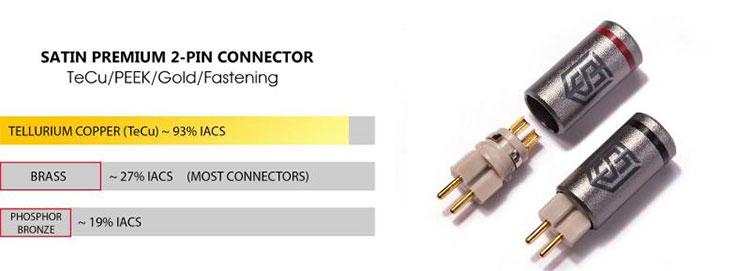 Satin Audio Zeus Connectors