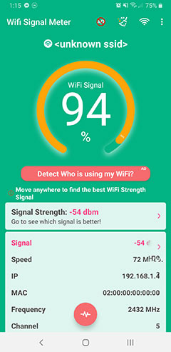 Samsung Note 9 WiFi