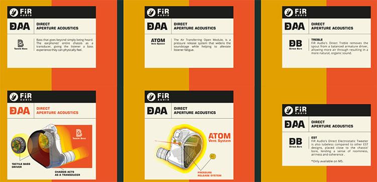 Fir Audio M5 Tech