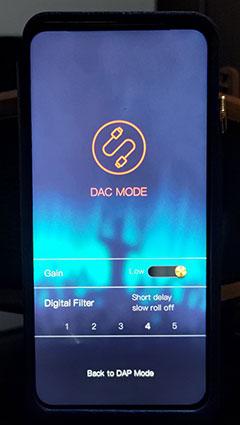 iBasso DX300 Mango OS DAC Mode